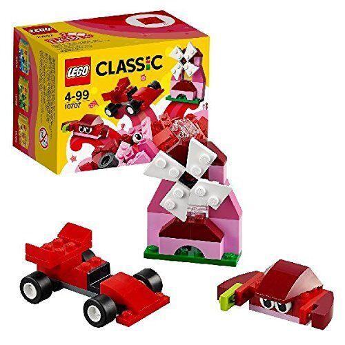 LEGO Classic Creative 10707 Building Box 55 Red//Pink Lego Bricks Set Brickset