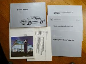 Mercedes-Benz-Owner-039-s-Manual-C-180-200-220-280-250-other-docs-1995
