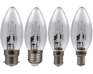 X2-Eveready-Halogene-Economique-Energie-Economie-Bougie-Ampoules-20w-33w-48w