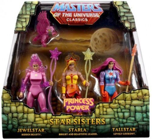Classics Club Eternia Star Sisters Action Figure 3-Pack Princess of Power