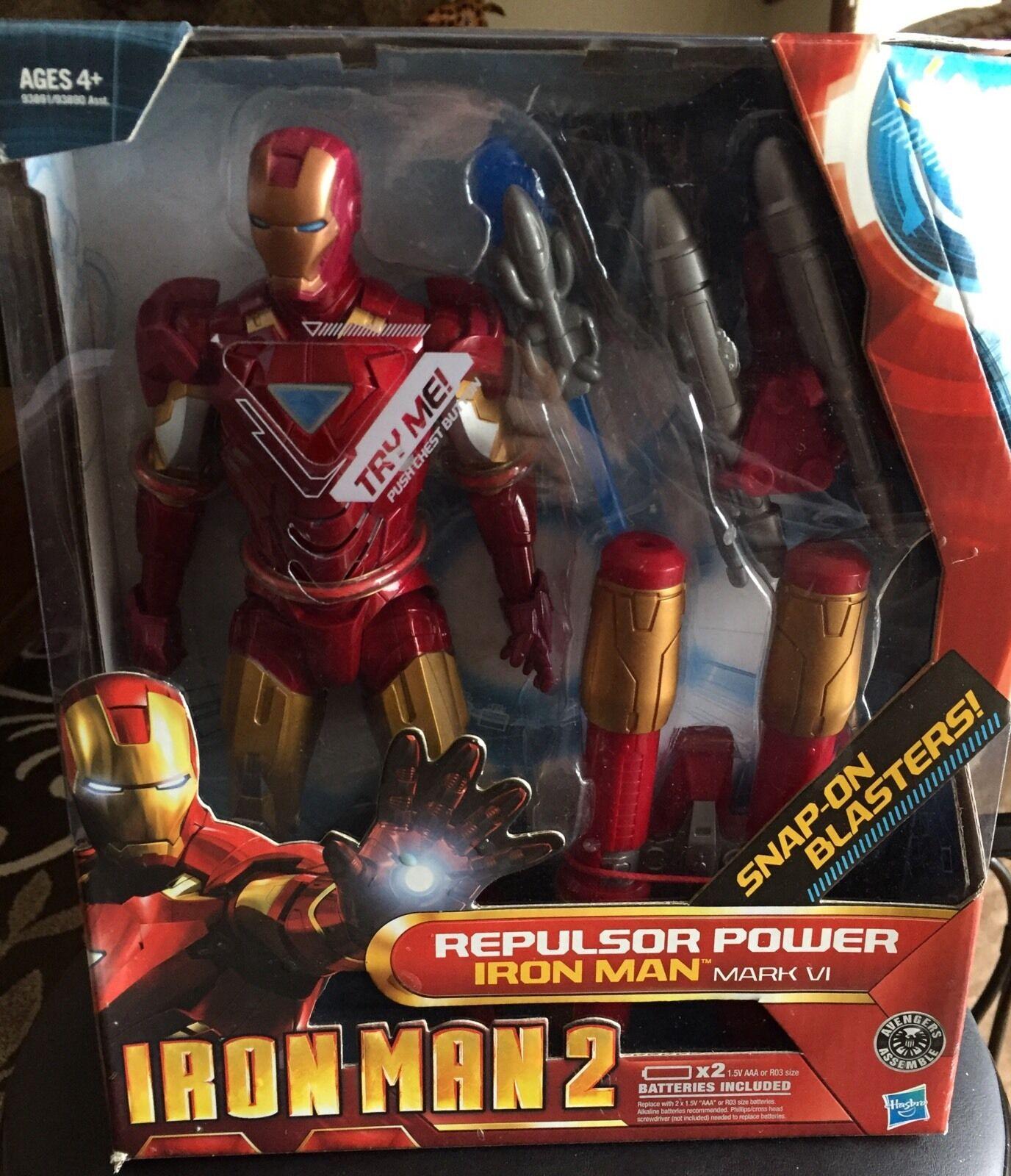IRON MAN 2 Repulsor Power IRON MAN VI 10