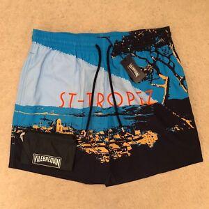 86c727060a Image is loading Vilebrequin-Moopea-St-Tropez-Swim-Shorts-Trunks-Bleu-