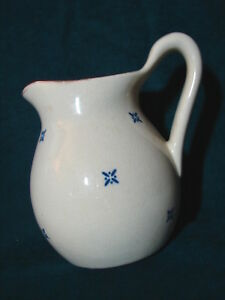 Vintage-Mount-Clemens-Pottery-Stoneware-Water-Pitcher