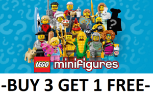 LEGO-MINIFIGURES-SERIES-17-71018-PICK-CHOOSE-YOUR-OWN-BUY-3-GET-1-FREE