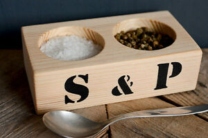 Eco-friendly-Salt-and-Pepper-pinch-pots-handmade-from-Pine-with-S-amp-P-stencil