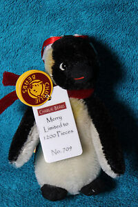 Charlie Bears, Merry the Penguin Limited Edition Mohair Key Ring