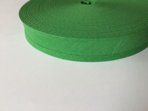 Ideal for Bunting Choice of 8 colours Bias Binding 25mm Wide 50M 50 metre Roll