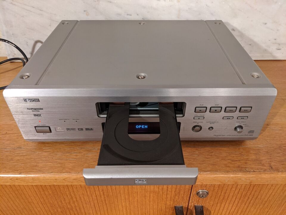 DVD/Super Audio CD, Denon, 2900