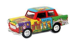 Trabi-Trabant-Limousine-Berlin-BB-Karadim-Modellauto-DDR-Metall-12-cm