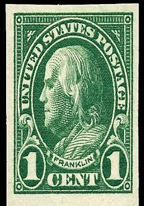 Image Is Loading US Postage Stamp PHOTO MAGNET Reproduction Franklin 1923