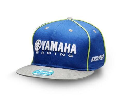 Official Yamaha Racing Blue GYTR Adults Flat Peak Baseball Cap