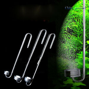 Aquarium CO2 Atomizer Carbon Dioxide Bubble Diffuser Stainless Steel Hang On