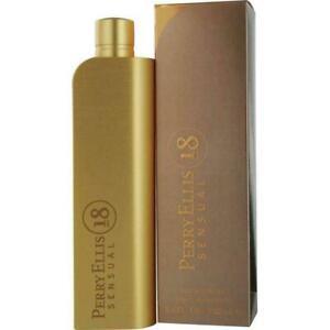 18 Sensual por Perry Ellis Para Mujer 3.3/3.4 oz Eau de Parfum Perfume Nuevo En Caja