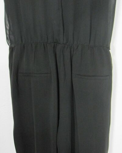 Effen 8 Nwt M Jumpsuit Maat Medium Mouwloos Zwart Signature 14fOwqw