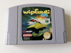 Jeu Nintendo 64 N64 Wipeout 64 pal