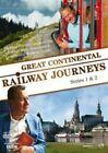 Great CONTINENTAL Railway Journeys Series 1 and 2 Digital Versatile Disc DVD