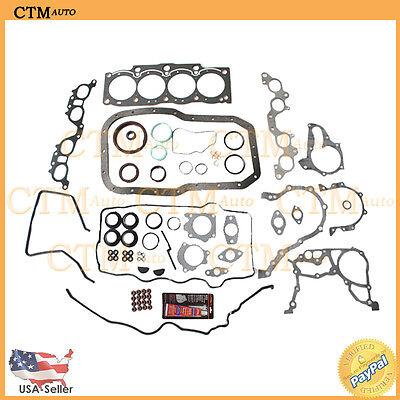 Head Gasket Kit Graphite Full Set Seal For 91-95 Toyota MR2 Base 2.2L I4 5SFE