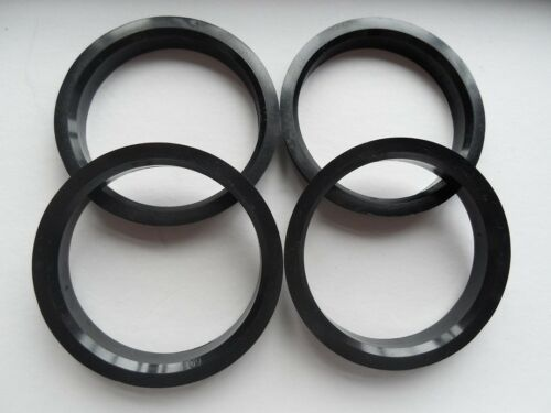 A set of 4pcs Plastic HUB CENTRIC HUBCENTRIC RING RINGS ID 64.10mm to OD 67mm