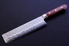 VG-10 Hammered Damascus Usuba 16cm Japanese Sushi chef knife YOSHIHIRO