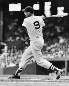 Boston-Red-Sox-TED-WILLIAMS-Glossy-8x10-Photo-Baseball-Print-Poster