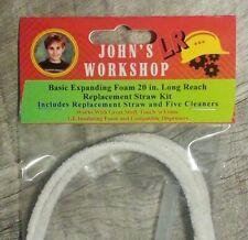 Basic Expanding Insulation 20 Long Reach Straw Great Stuff Foam Nozzle Kit