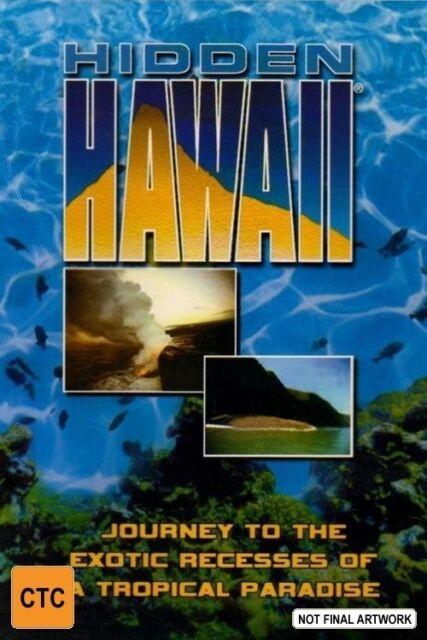Imax - Hidden Hawaii (DVD, 2002) --Free Postage --