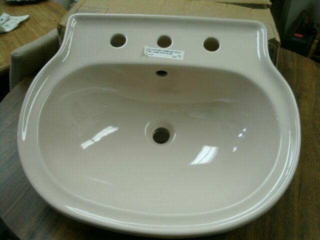 American Standard Chloe Countertop Lavatory Bathroom Sink Beige