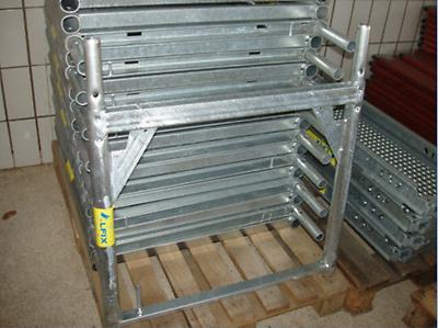 Vertikalrahmen V-rahmen Stahl 0,66m X 0,73m Für Layher Und Kompatibel Neu + Eine GroßE Auswahl An Farben Und Designs