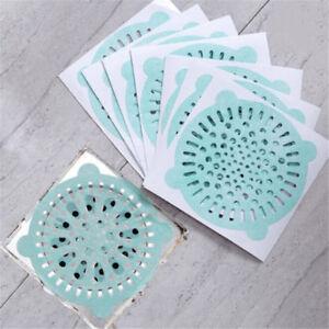 10pcs-Bodenablauf-Abdeckung-Stecker-Wasserfilter-Haarfaenger-Sieb-Einmal-filt-ST