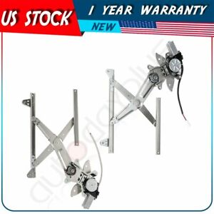 Power Window Motor and Regulator Assembly Front Left fits 97-01 Toyota Camry