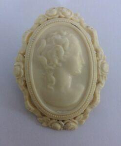 Art-Deco-Celluloid-cameo-brooch