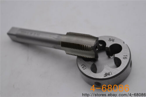 1pc 3//4-16 tap 1pc 3//4-16 die UNF  British US made right hand taper