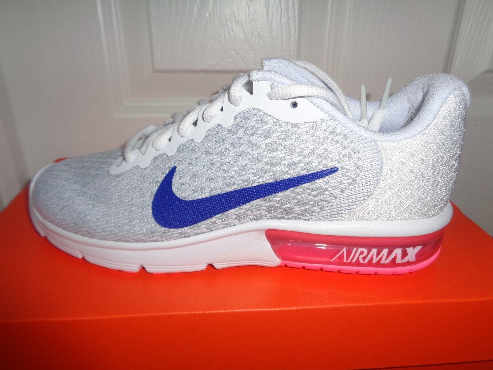 promo code 82fe4 d1e06 Nike Air Max Sequent 2 Mujeres Zapatillas Zapatos 852465 146 nos 7 Nuevo +  Caja