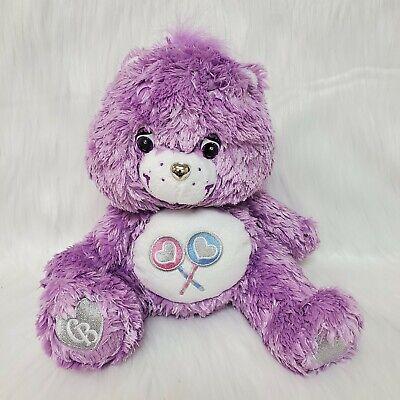 "Care Bears Soft Purple Share Bear 11/"" Plush STUFFED ANIMAL Toy Gift"