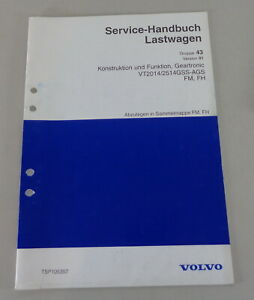 Workshop-Manual-Volvo-Lorry-Fm-Fh-Geartronic-VT2014-2514-Gss-Ags-By-1998