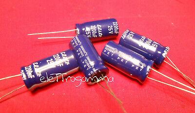 Condensatore Elettrolitico 47uF 25V 85/°C Radiale 5 Pz