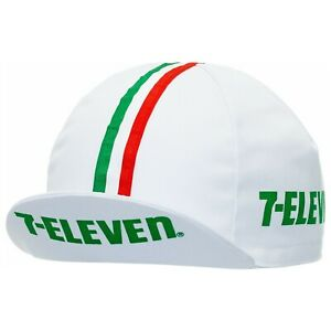 7-ELEVEN Pro Team Vintage Classic cycling cap-Made in Italy