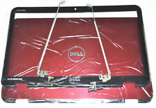 Nuevo genuino Dell Inspiron 15r N5110 M5110 cubierta de tapa roja Bisel Bisagras c6h33 40w17