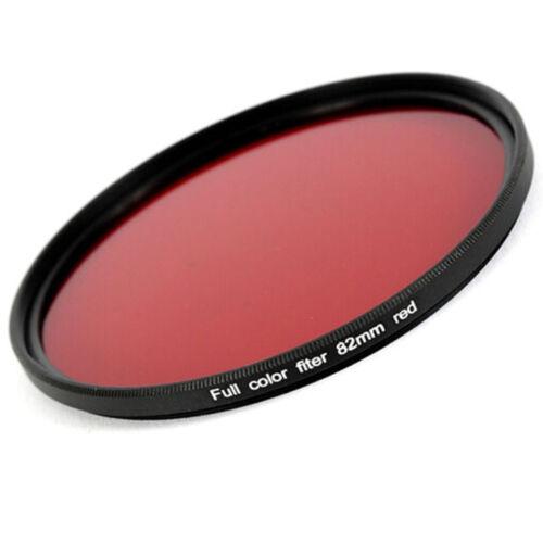 Fotografie 82 mm Filter Rot für SW