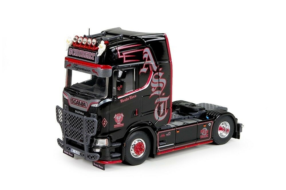 TEKNO 71592 SCANIA S HIGHLINE TRACTEUR SOLO 4X2    ANDREAS SCHUBERT   NEUF