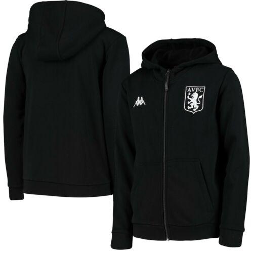 Aston Villa Football Marco Full Zip Hoodie Sweatshirt Kids