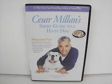Cesar Millan's SHort Guide To A Happy Dog 98 Essential Tips Techniques MP3 Disc