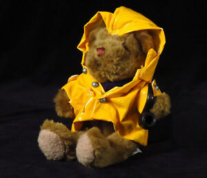 The-Teddy-Bear-Collection-034-Fergus-the-Fisherman-034-Plush-No-6-Soft-Toy-boating