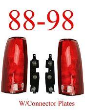 88 98 Chevy Tail Light Set w/Connector Plates L&R, Truck, GMC, 99, 00 Tahoe NIB!