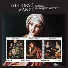 Libera- 2013 History of Art Stamp- sheetlet of 3 SC#2856