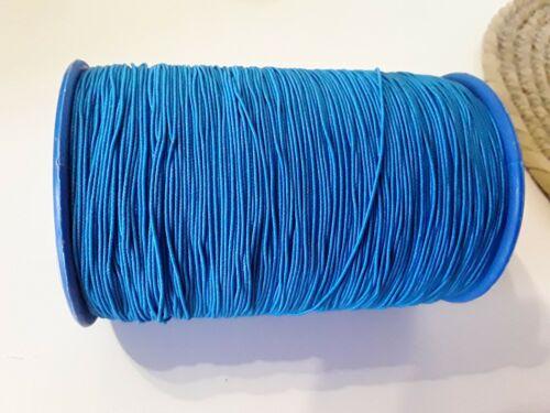 0.6 mm élastique Corde De Nylon Noir Blanc Couleurs Filetage 1M-20M pour Perles Tressage
