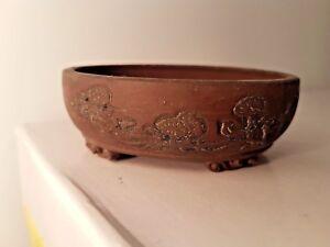 Japanese Tokoname Bonsai Pot By Deiju Ebay