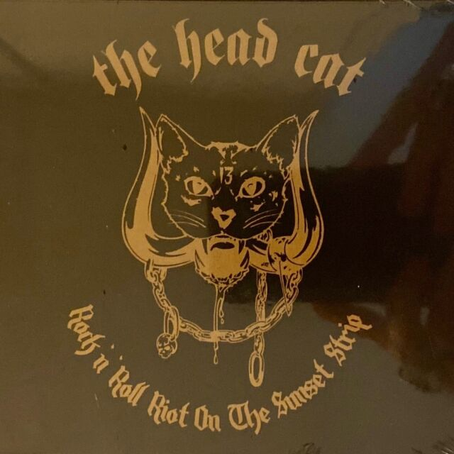 HEAD CAT - Rock N' Roll Riot On The Sunset Strip NEW CD - LEMMY
