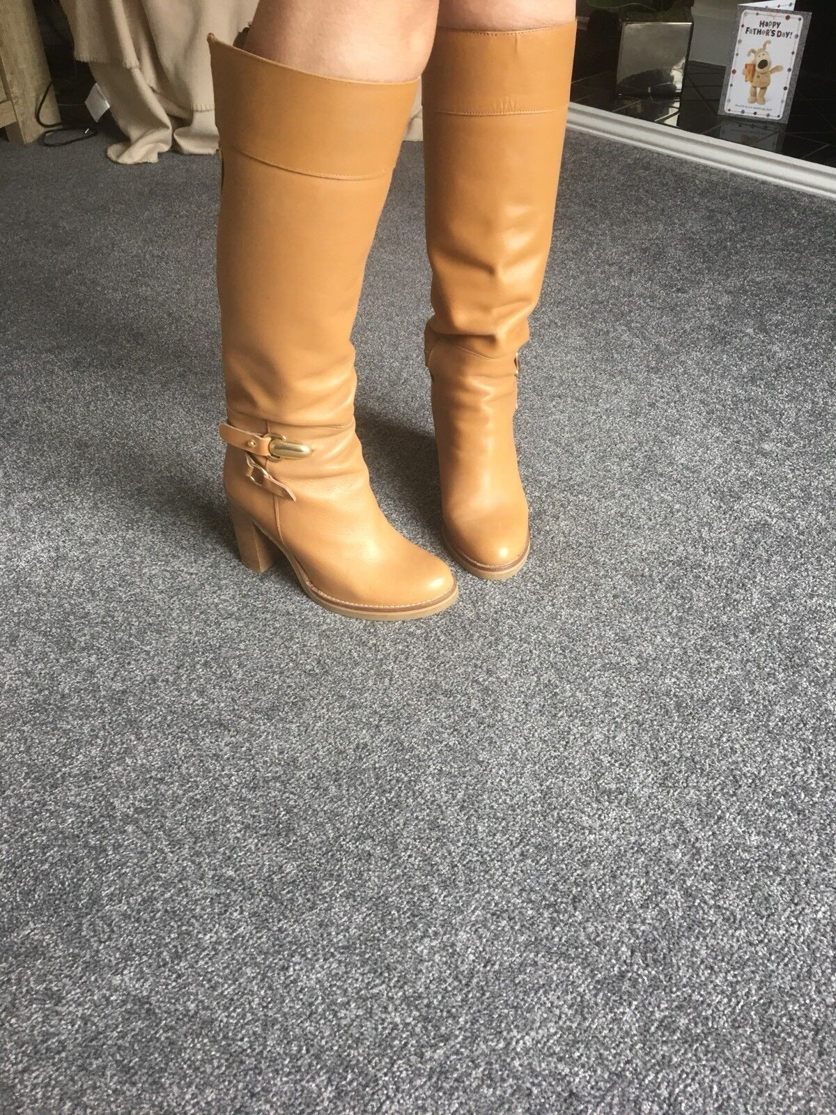 Ladies Boots From next, Brown Size 6