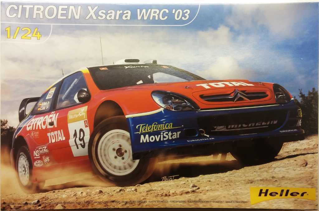 1 24 HELLER - CITROEN XSARA WRC 2003